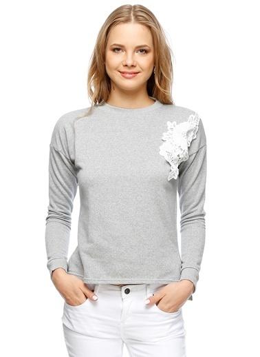 Endless Rose Sweatshirt Gri